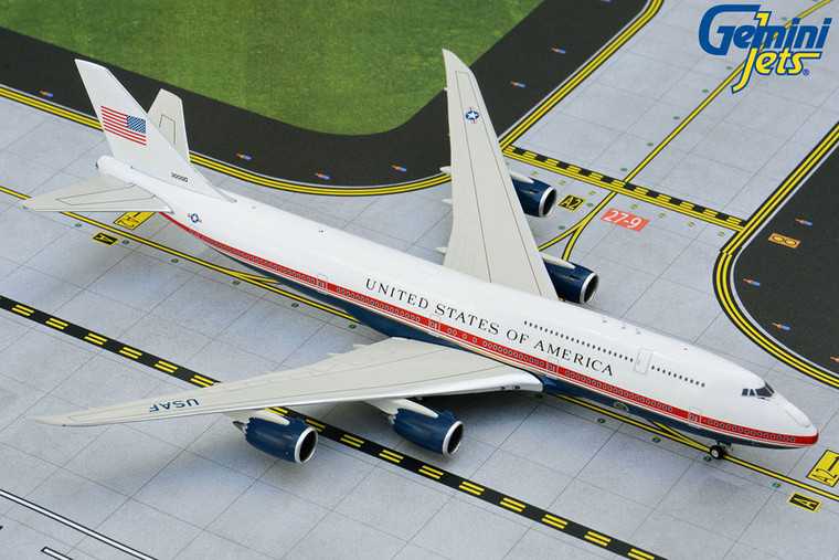 Gemini Jets U.S. Air Force One B747-8i proposed livery GJAFO1913 1:400