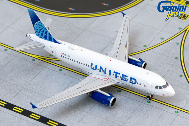 Gemini Jets United Airlines A319 GJUAL1914 1:400