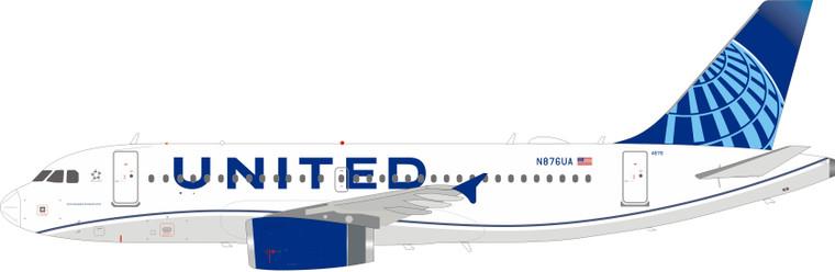 Inflight200 United Airlines Airbus A319-132 N876UA IF319UA0220 1:200