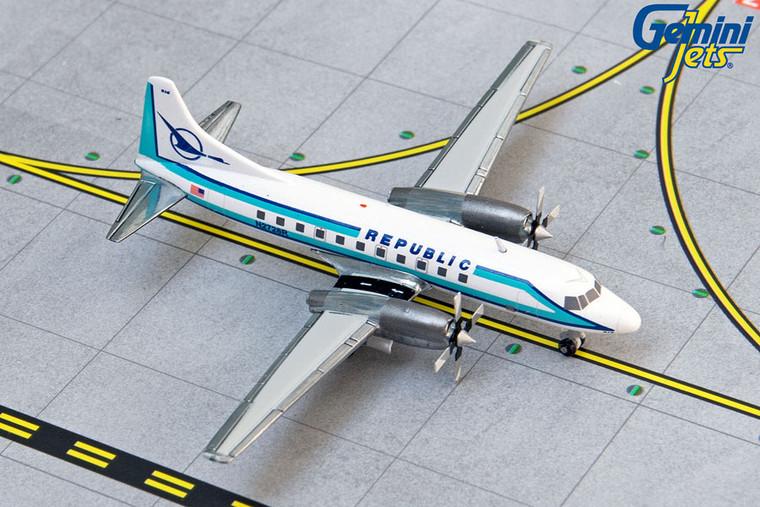 Gemini Jets Republic CV-580 N2728R GJREP1407 1:400