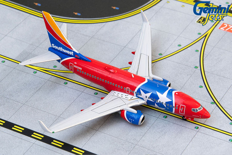 Gemini Jets Southwest B737-700W N922WN (Tennessee One) GJSWA1413 1:400