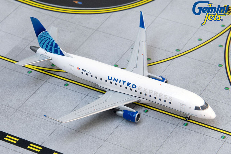 Gemini Jets United Express / ExpressJet E175 N605UX (new livery) GJUAL1889 1:400