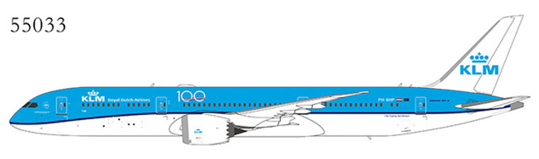NG Model KLM - Royal Dutch Airlines 787-9 Dreamliner PH-BHP 55033 1:400