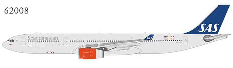 NG Model Scandinavian Airlines (SAS) A330-300 SE-REH 62008 1:400