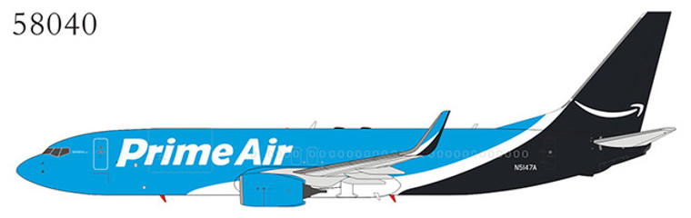 NG Model Prime Air 737-800BCF/w N5147A 58040 1:400