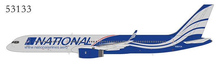 NG Model National Airlines 757-200 N567CA 53133 1:400