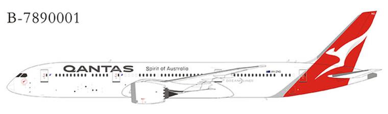 Extra Model Qantas 787-9 VH-ZNG B-7890002A 1:400