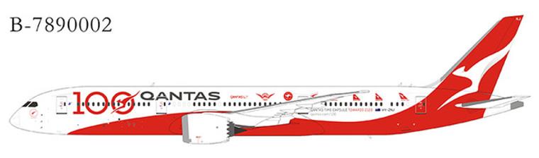Extra Model Qantas 787-9 VH-ZNJ B-7890002A 1:400