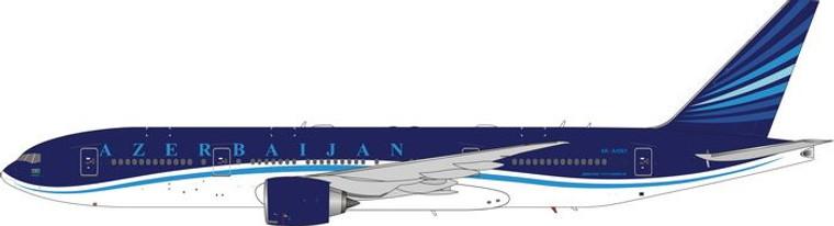 Phoenix Model AZERBAIJAN AIRLINES B777-200LR 4K-AI001 PH4AHY2005 1:400