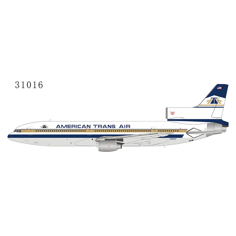NG Model American Trans Air - ATA L-1011-50 N186AT 31016 1:400