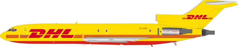 DHL Boeing 727-200 VH-DHE   IF722DH1219 1:200