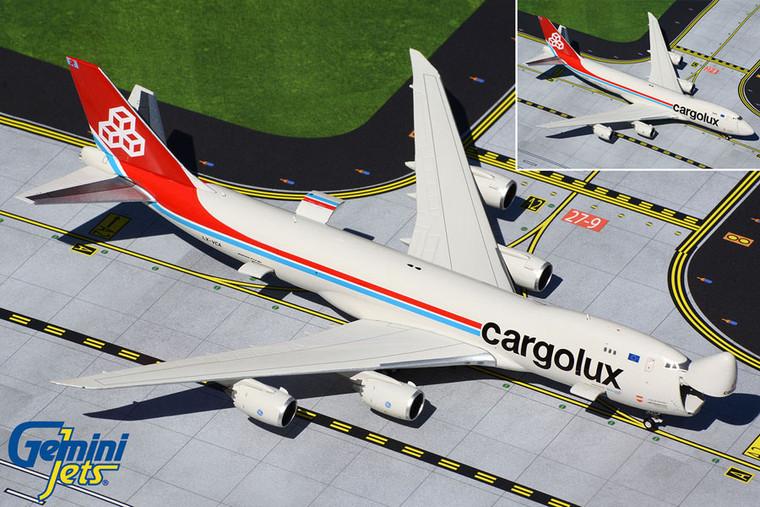 Gemini Jets Cargolux B747-8F LX-VCA GJCLX1896 1:400