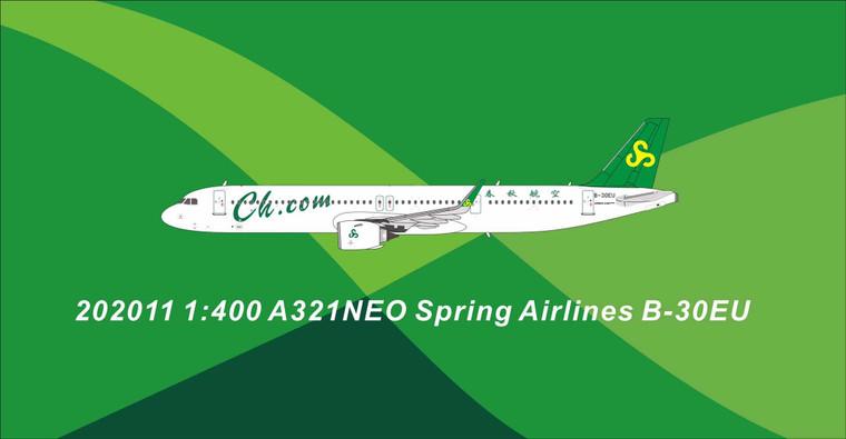 Panda Models Spring Airlines A321neo B-30EU 202011 1:400