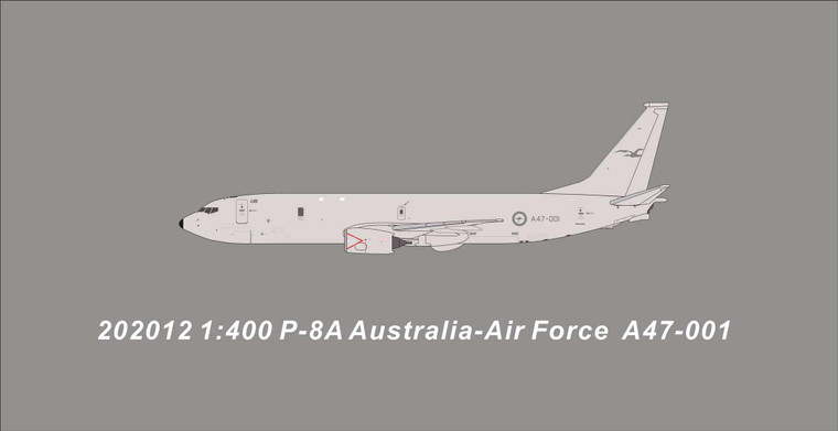 Panda Models Royal Australian Air Force P8-A A47-001 202012 1:400