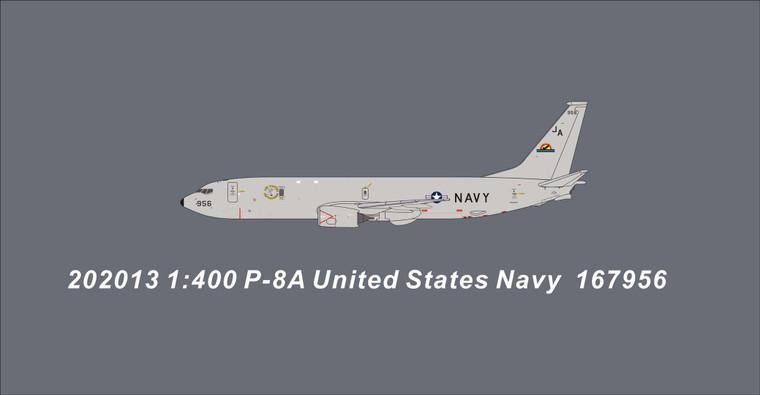 Panda Models United States Navy P8-A 167956 202013 1:400