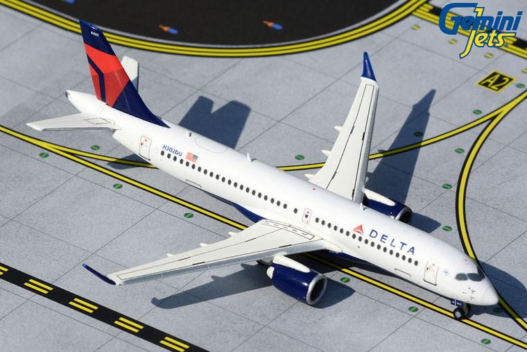 Gemini Jets Delta Air Lines A220-300 N302DU GJDAL1926 1:400