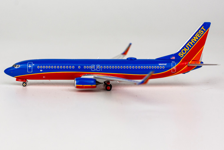 NG Model Southwest Airlines Canyon Blue livery 737-800/w N8650F 58070 1:400