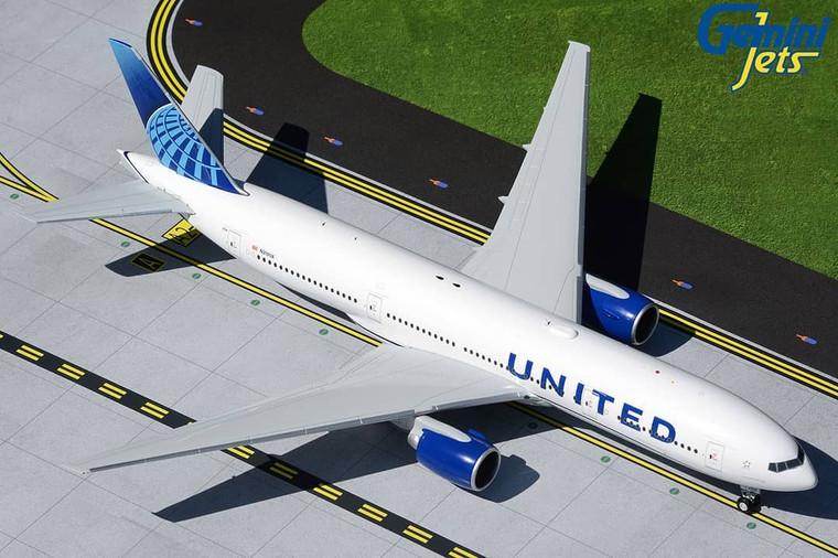 Gemini200 United Airlines B777-200 new livery N210UA G2UAL910 1:200