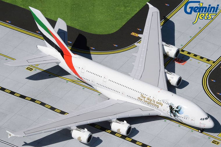 Gemini Jets Emirates A380 UAE in Space livery A6-EEH GJUAE1924 1:400
