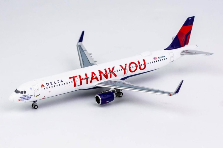 NG Model Delta Air Lines THANK YOU Livery A321-200/w N391DN 13018 1:400