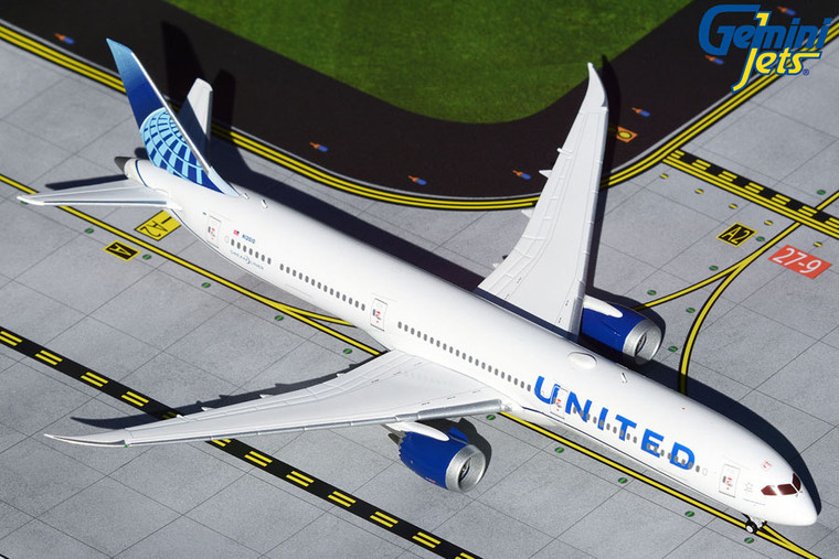 Gemini Jets United Airlines B787-10 new livery N12010 GJUAL1808 1:400