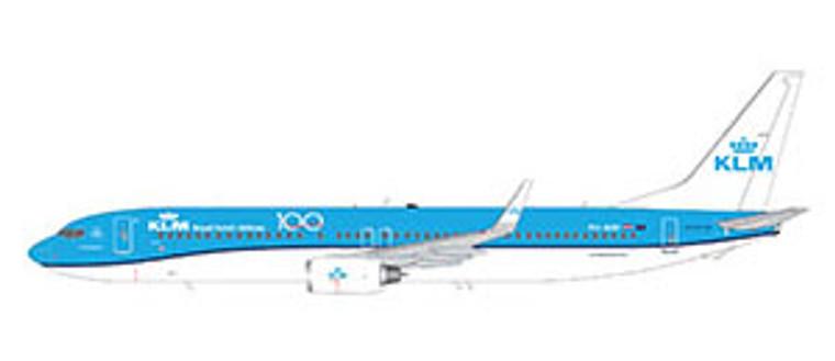 Gemini200 KLM B737-900 PH-BXP G2KLM924  1:200