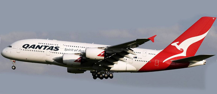 Phoenix Model QANTAS A380-800 VH-OQI PH4QFA2100 1:400