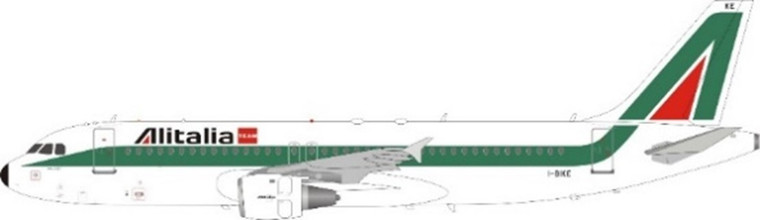 JFox Alitalia (Old Colour) A320-214 I-BIKE JF-A320-021 1:200