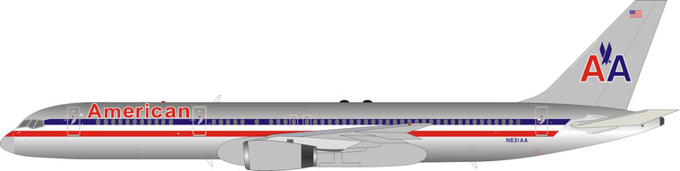 Inflight200 American Airlines Boeing 757-223 N631AA IF752AA0221P 1:200