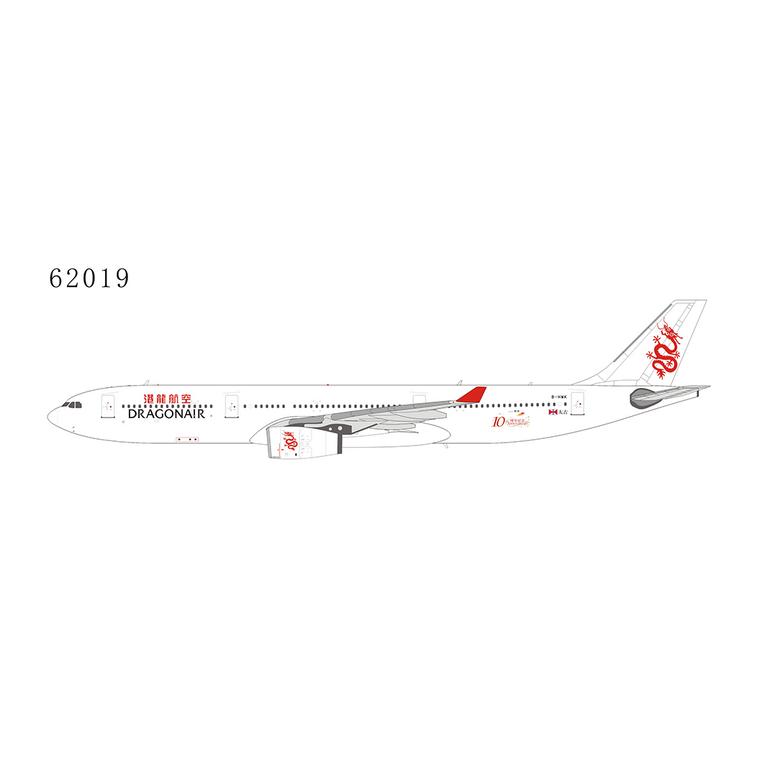NG Model Dragonair o/c; 10th Anniversary A330-300 B-HWK 62019 1:400