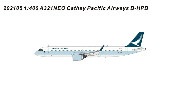 Panda Models Cathay Pacific Airways A321Neo The First A321neo B-HPB 202105 1:400