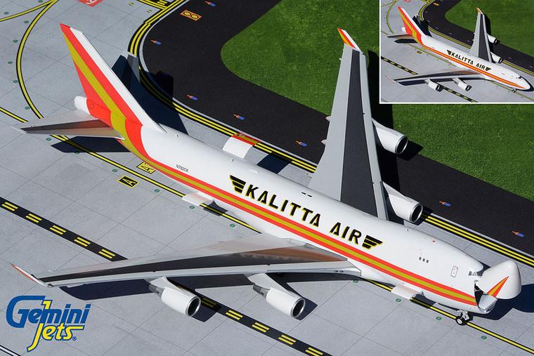 Gemini200 Kalitta Air B747-400ERF Interactive Series N782CK G2CKS928 1:200