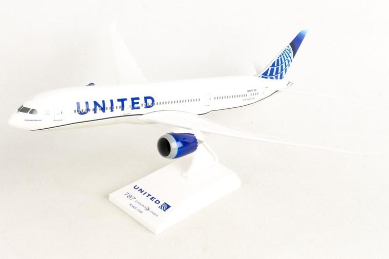 SKYMARKS UNITED 787-9 2019 NEW LIVERY N24976 SKR1046 1:200