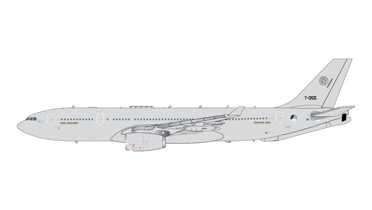 GeminiMACS NATO/RNLAF A330 MRTT Voyager T-055 GMNAF107 1:400