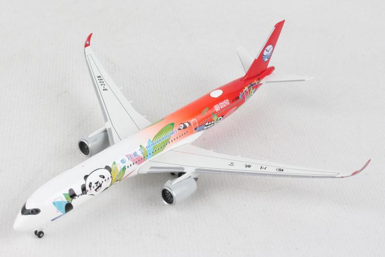 HERPA SICHUAN A350-900 HE534499 1:500 PANDA ROUTE
