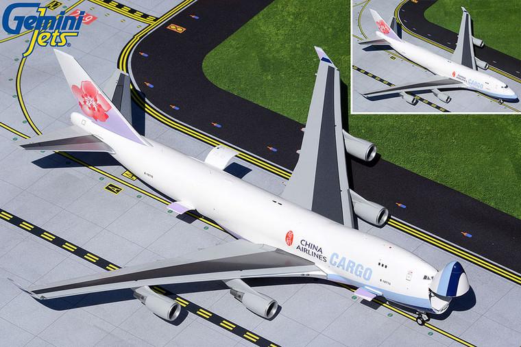 Gemini200 China Airlines Cargo B747-400F Interactive Series B-18710 G2CAL929 1:200