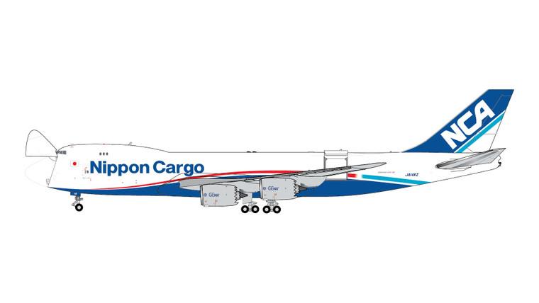 Gemini Jets Nippon Cargo Airlines B747-8F Interactive Series JA14KZ GJNCA1897 1:400