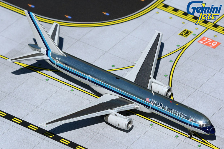 Eastern Air Lines B757-200 polished livery N502EA GJEAL1981 1:400