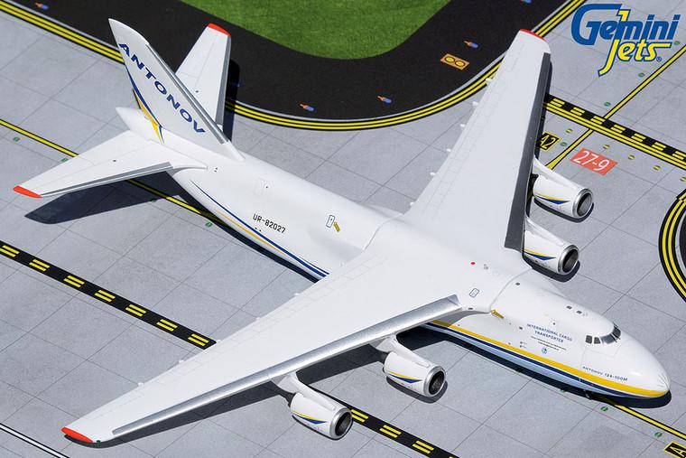 Gemini Jets Antonov An-124-100M Ruslan UR-82027 GJADB1989 1:400