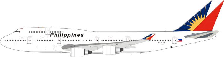 Inflight200 Philippine Airlines Boeing 747-400 RP-C7473 IF744PR0821 1:200