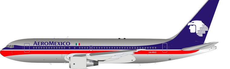 Inflight200 AeroMexico Boeing 767-200 XA-RVZ Polished IF762AM0621P 1:200