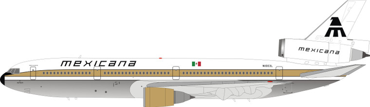 Inflight200 Mexicana McDonnell Douglas DC-10-15 N1003L IFDC10MX0821P 1:200