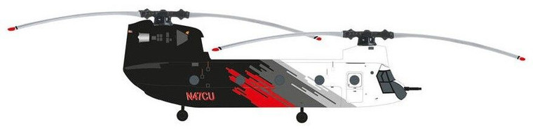 Herpa Wings Coulson Aviation Boeing CH-47D Chinook N47CU HE571517 1:200