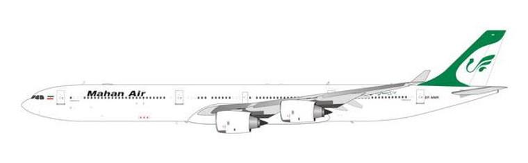 Phoenix Model Mahan Air Airbus A340-600 EP-MMR PH4IRM2164 1:400