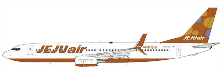 JC Wings Jeju Air B737-800 HL8321 JC4JJA196 1:400