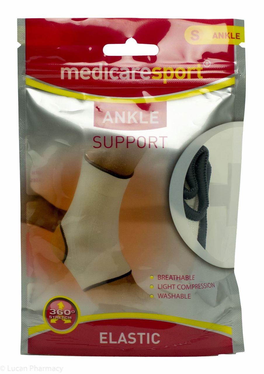 783976fd82 Medicare Sport+® Elastic Ankle Support - S - Lucan Village Pharmacy
