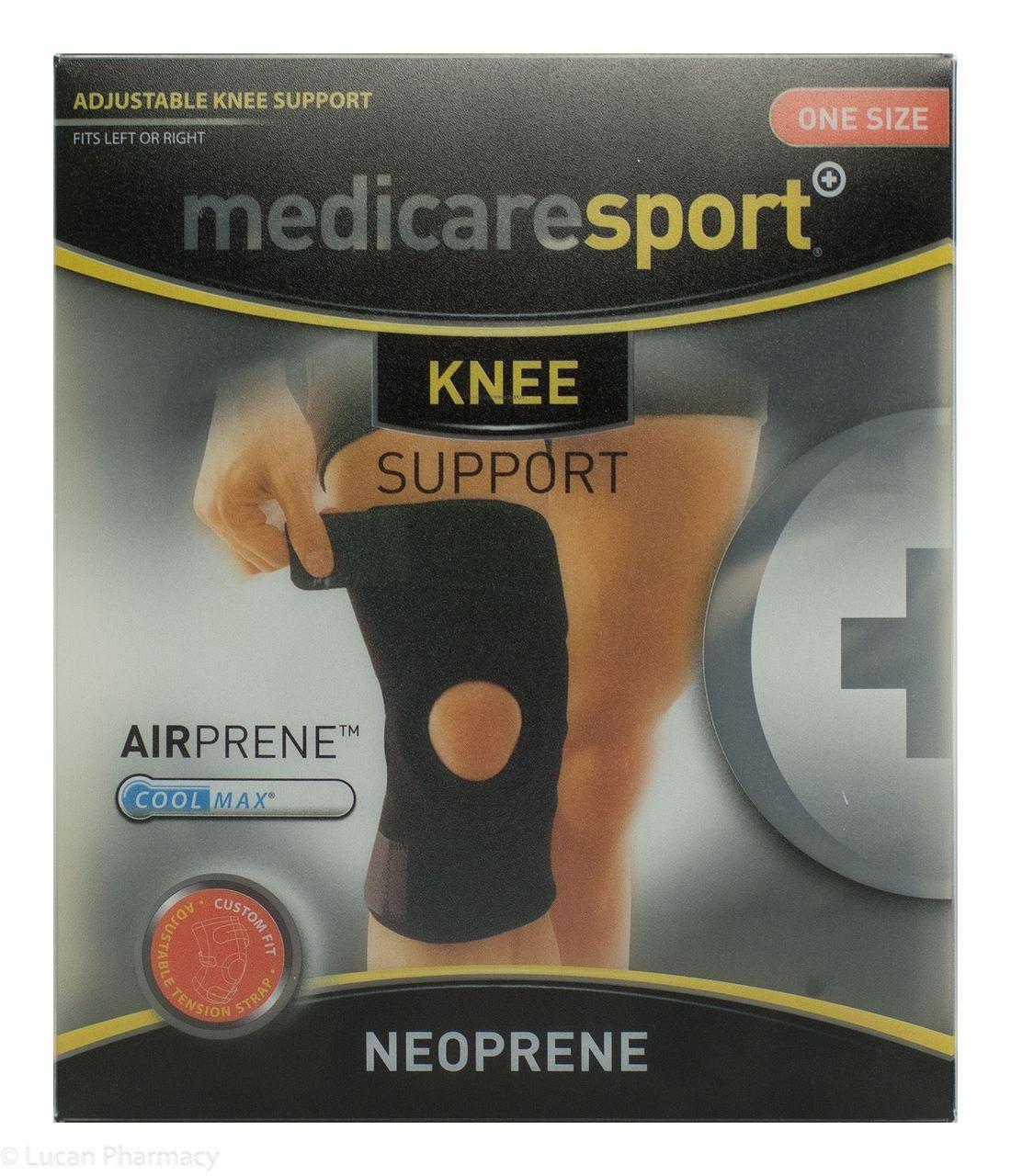 203c132204 Lucan Pharmacy Medicare Sport+® Neoprene Knee Support - One Size Fits All