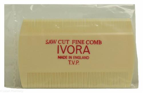 Ivora Saw Cut Fine Tooth Comb