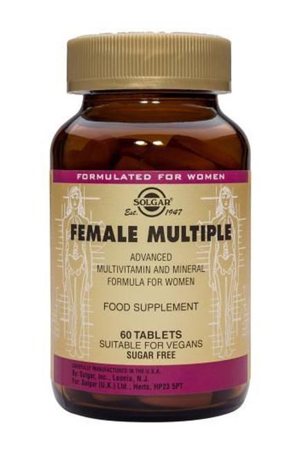 Solgar® Female Multiple – 2x 60 Tablets