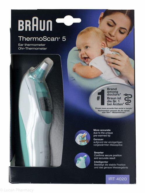 Braun ThermoScan® 5 Ear Thermometer